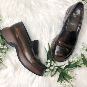 DANSKO | Brown Leather Comfy Clogs Women's Sz 37